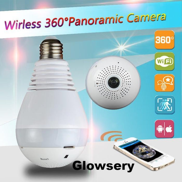 Wireless IP Camera Bulb - Glowsery