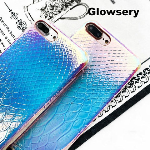 Luxury Crocodile Shining Case For iPhone