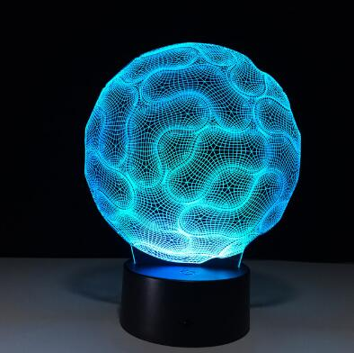 3D Illusion Night Lamp - Glowsery