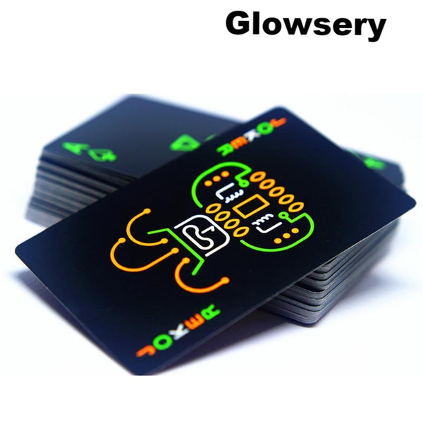 Poker Playing Cards Glow In The Dark - Glowsery