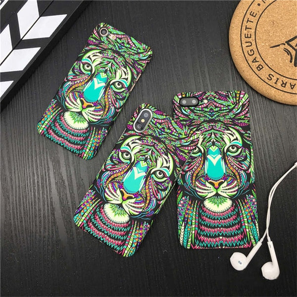 Luminous Animal Cases For iPhone's Models - Glowsery