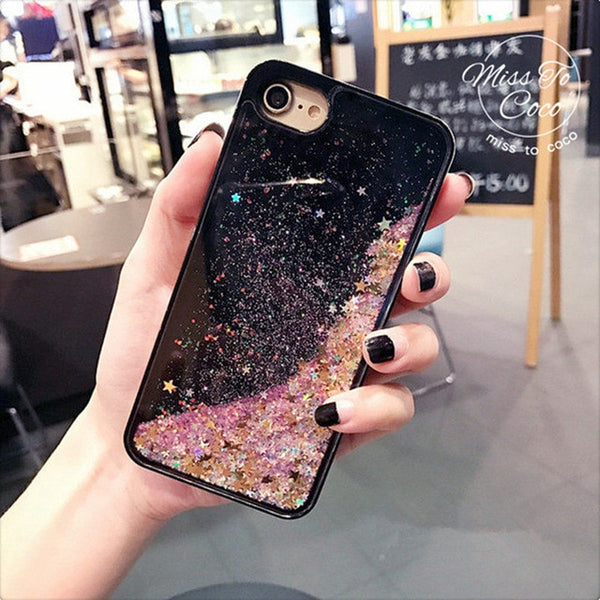 Sparking Liquid Case Cover - Glowsery