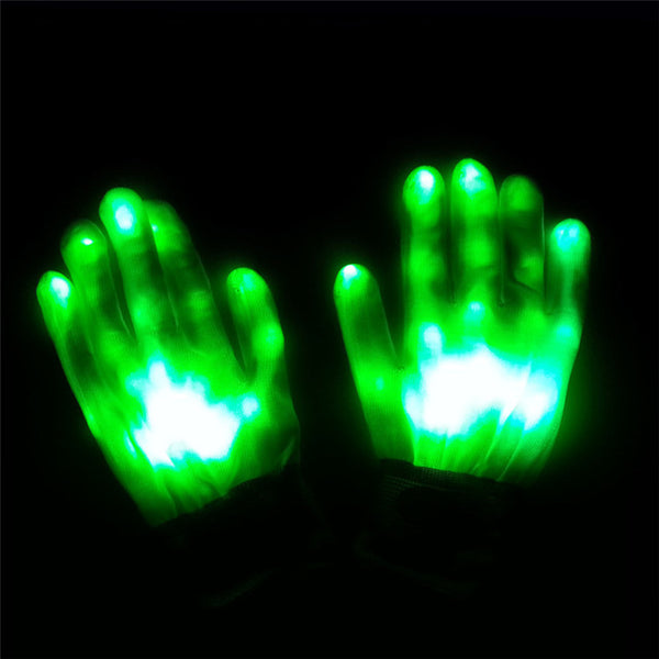 Luminous Gloves Lighting Flashing - Glowsery