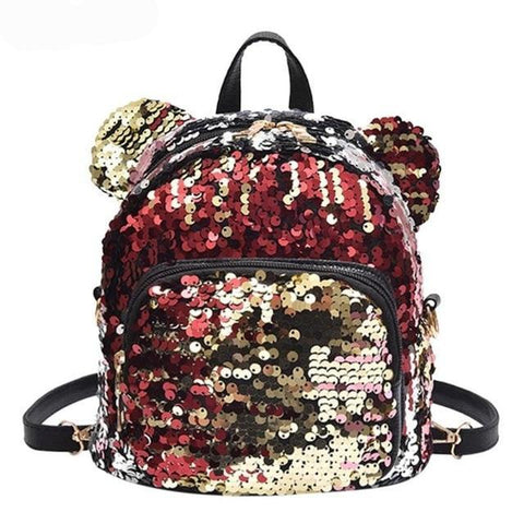 Shining Mickey Ears Backpack