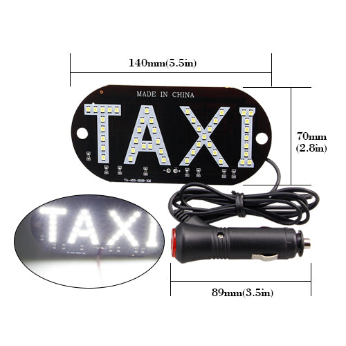 Light Sign LED Roof Uber/TAXI   Glowsery