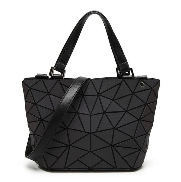 Geometry 3D Diamond Shoulder Bags - Glowsery