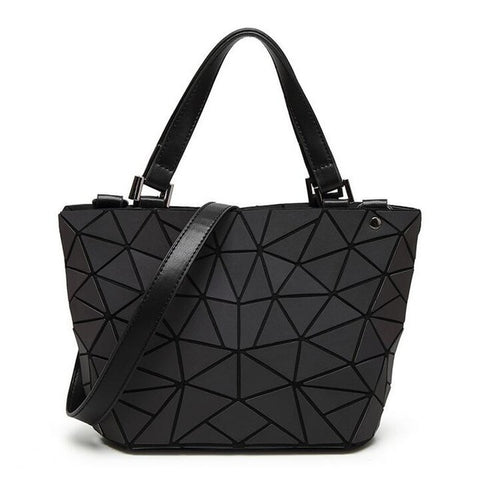 Geometry 3D Diamond Shoulder Bags