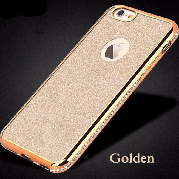 Diamonds glowing Bumpers+Cover Case For iPhone - Glowsery