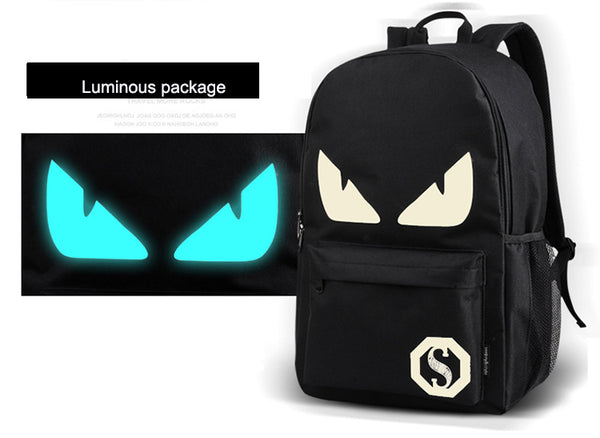 Glow In The Dark Demon Backpack(Free Gifts) - Glowsery