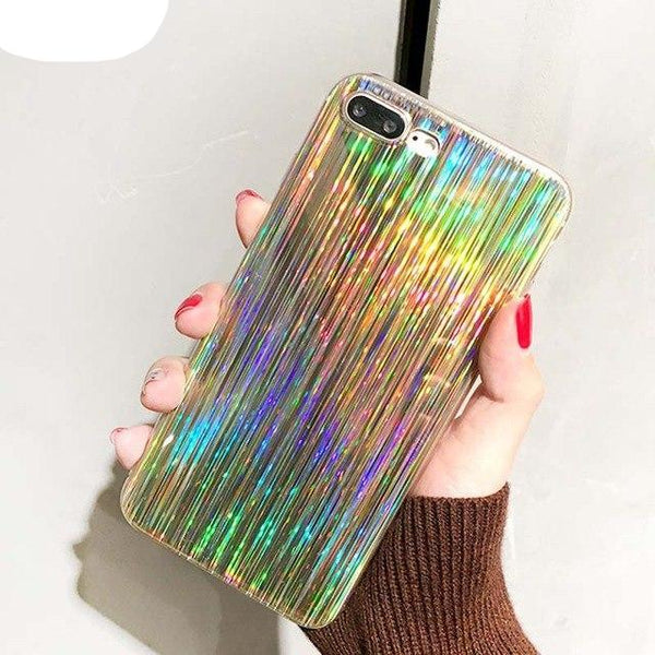 Luxury Laser Shining Case For iphone - Glowsery