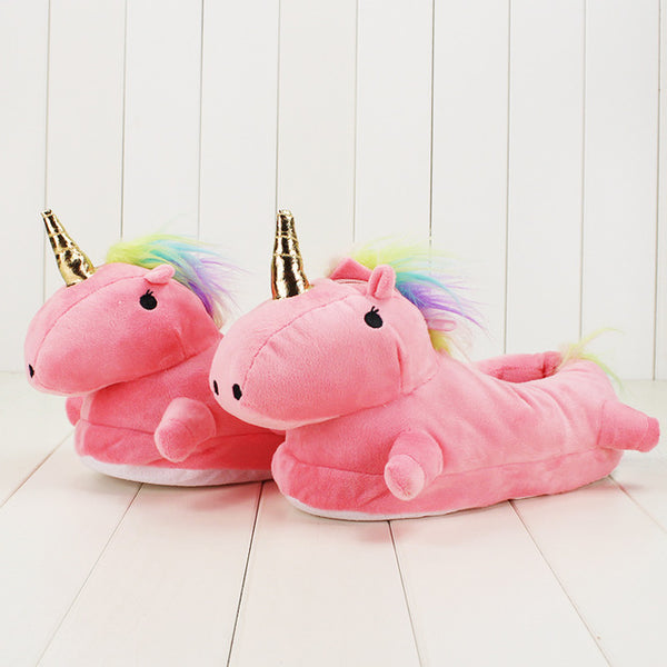 Amazing Unicorn Glowing Slippers - Glowsery