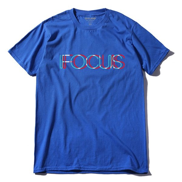 CREATIVE TSHIRT FOCUS DESIGN (MEN) - Glowsery