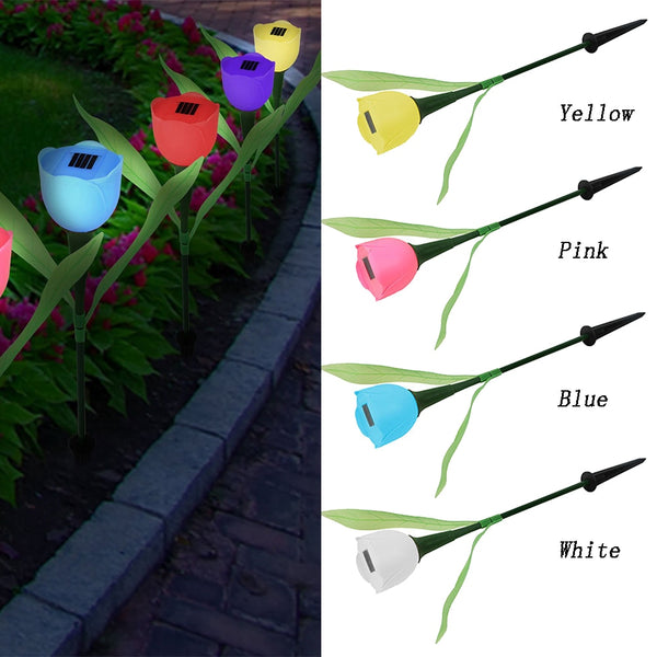 Solar Flower Led Garden Decoration - Glowsery