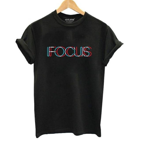 CREATIVE TSHIRT FOCUS DESIGN (Women)