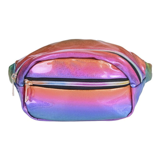 Fashion Glowing Colorful Women Pouch Fanny Pack - Glowsery