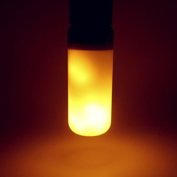 Flame Effect Fire Light Bulb - Glowsery