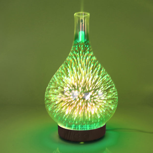 3D Fireworks LED Air Humidifier - Glowsery