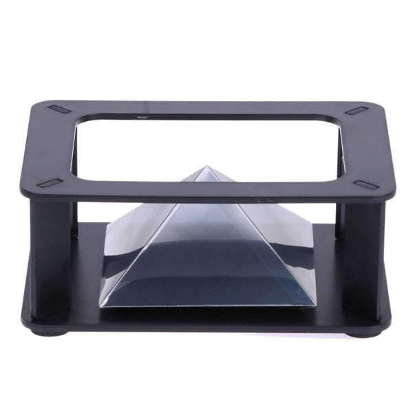 3D Pyramid Hologram Luxury Display - Glowsery
