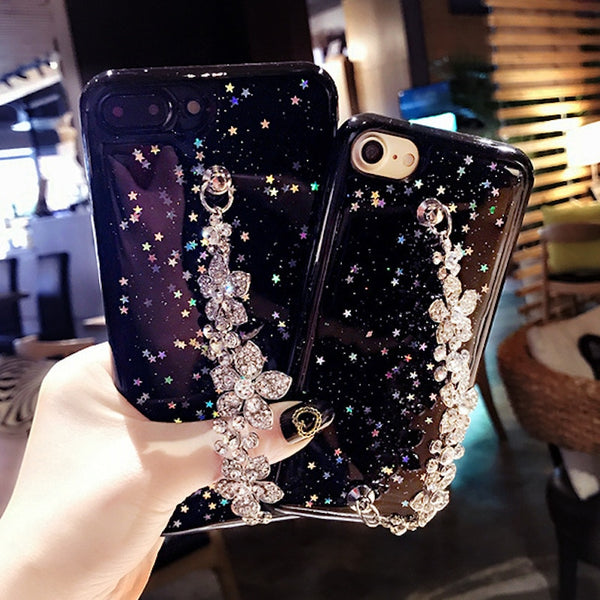 Luxury Sparking Phone Cases For Samsung Model's - Glowsery