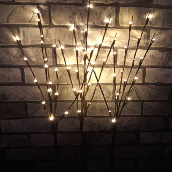 20 Leds Willow Branch Lamp - Glowsery