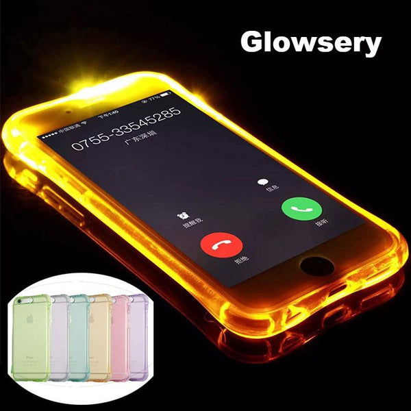 Flash Light Up Case For All iPhone's Models - Glowsery