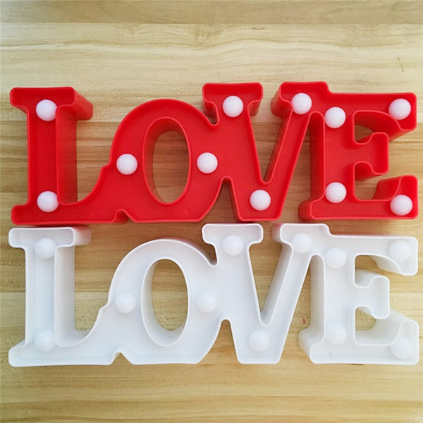 LOVE Night Light - Glowsery
