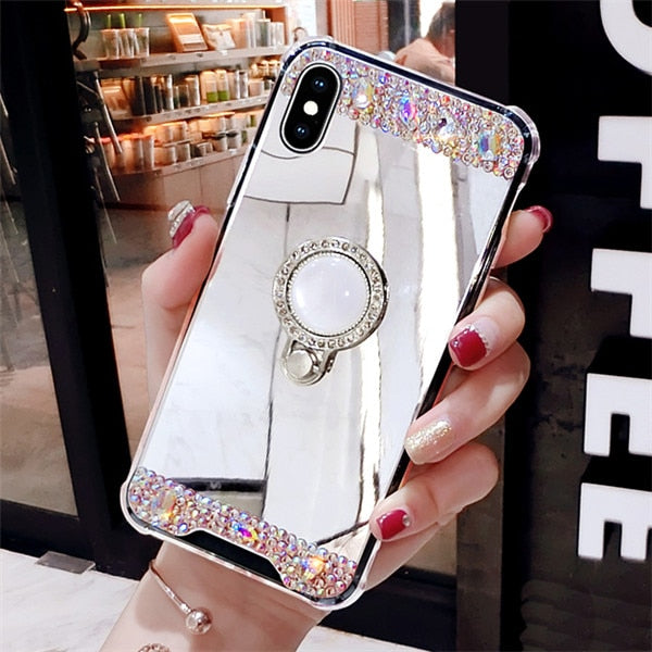 Luxury Soft Mirror Case For All iPhone's Models - Glowsery
