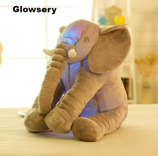 Glowing Elephant Plush Pillow (50CM) - Glowsery