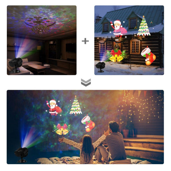 Christmas Emoji Projection Light +Remote Control - Glowsery