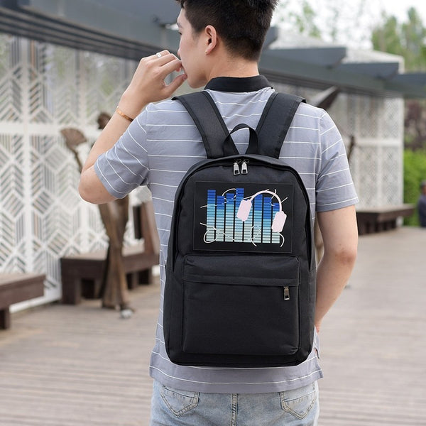 Voice Control Glowing Backpacks - Glowsery