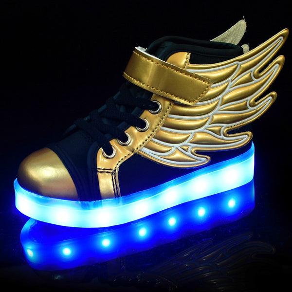 Angel's Wings Luminous Shoes - Glowsery