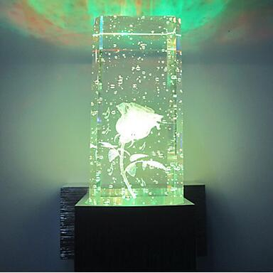 Creative Modern LED Crystal Wall - Glowsery