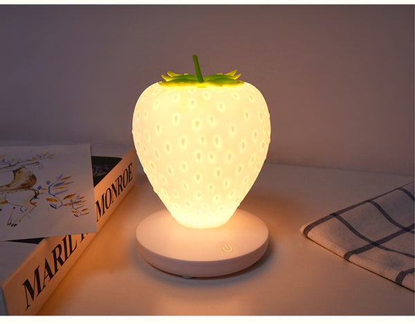Night light Cute Strawberry - Glowsery