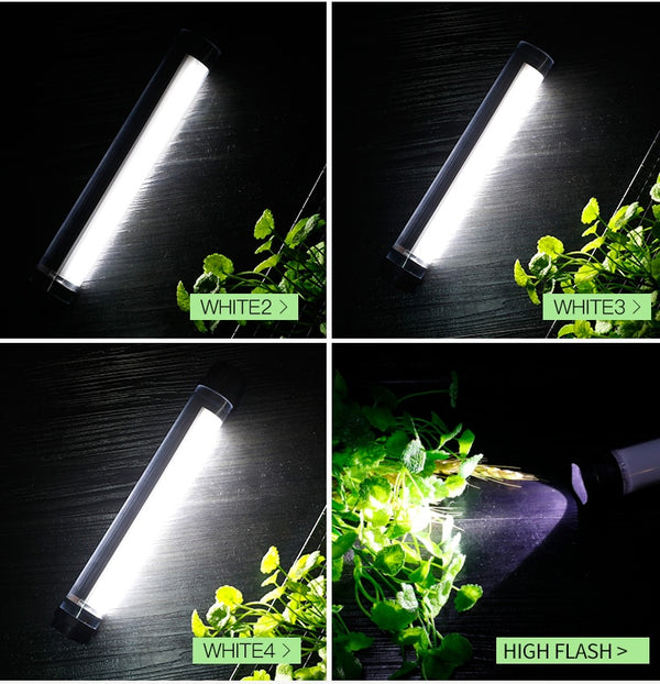 MULTIFUNCTION OUTDOOR LED LAMP RECHARGEABLE - Glowsery