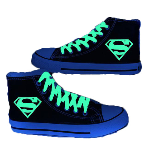 Luminous Super Hero Casual Sneakers