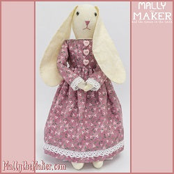 Ms Bunny Doll beginner sewing pattern