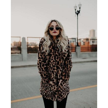 Cheetah Coat-Coat-Air Halo Fashions