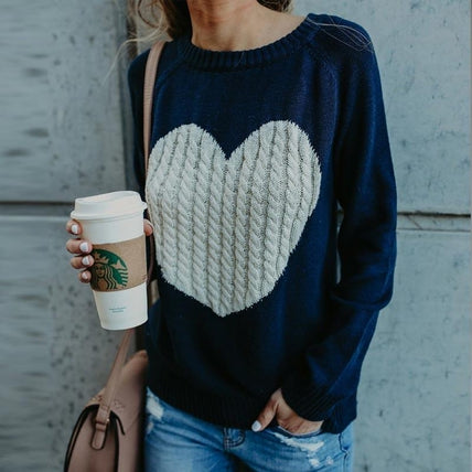 Heart Jumper-Top-Air Halo Fashions
