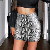 Python Skirt-Bottom-Air Halo Fashions