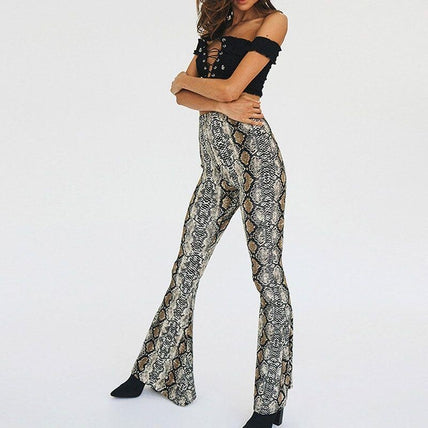 Python Trousers-Bottom-Air Halo Fashions