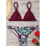Tropical Bikini-Swimwear-Air Halo Fashions