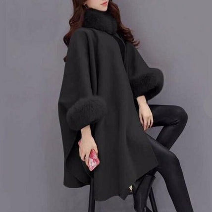 Winter Cape-Coat-Air Halo Fashions