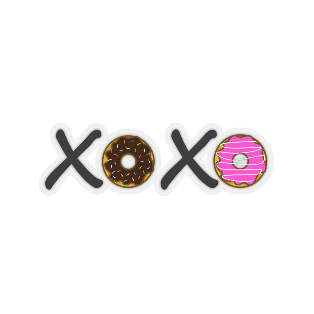 XOXO Donuts Sticker (3X3)
