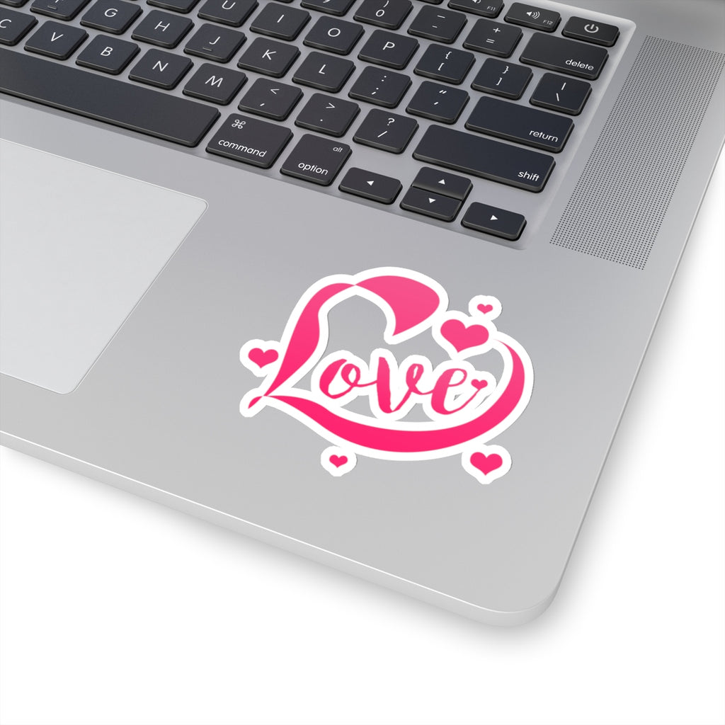 Love Hearts Sticker (3X3)