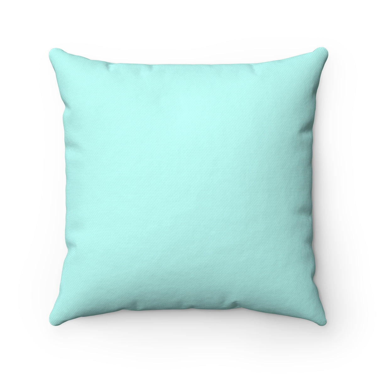 Ovarian Cancer Awareness Light Teal Square Pillow 20 X 20 Faith Hope Love Boutique