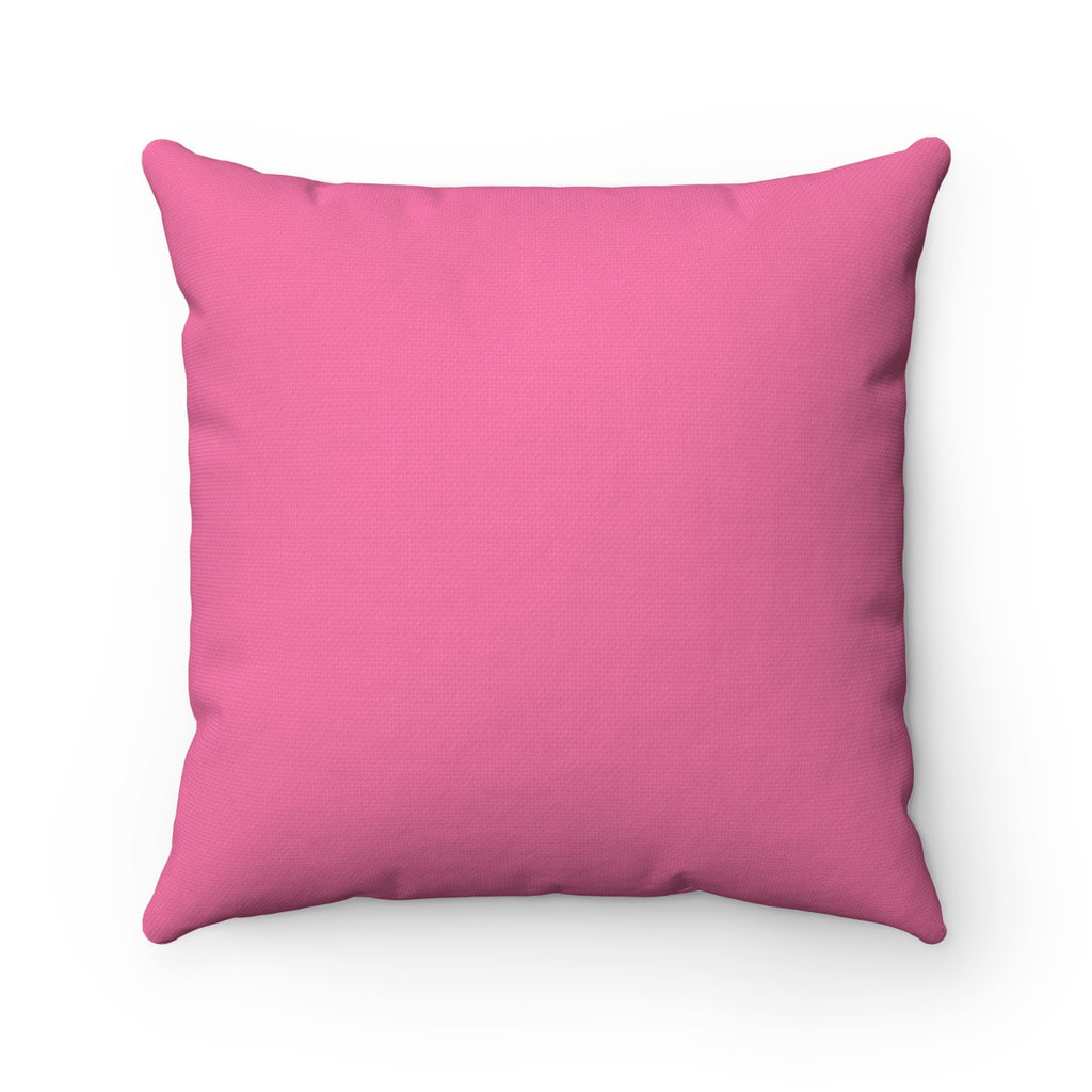 "in a world...Be Kind. ""Raspberry"" Square Pillow (20 X 20)"