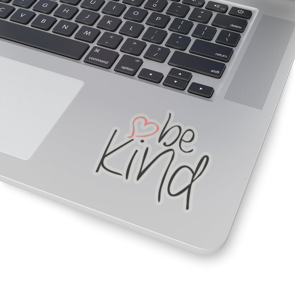 be kind Heart Sticker
