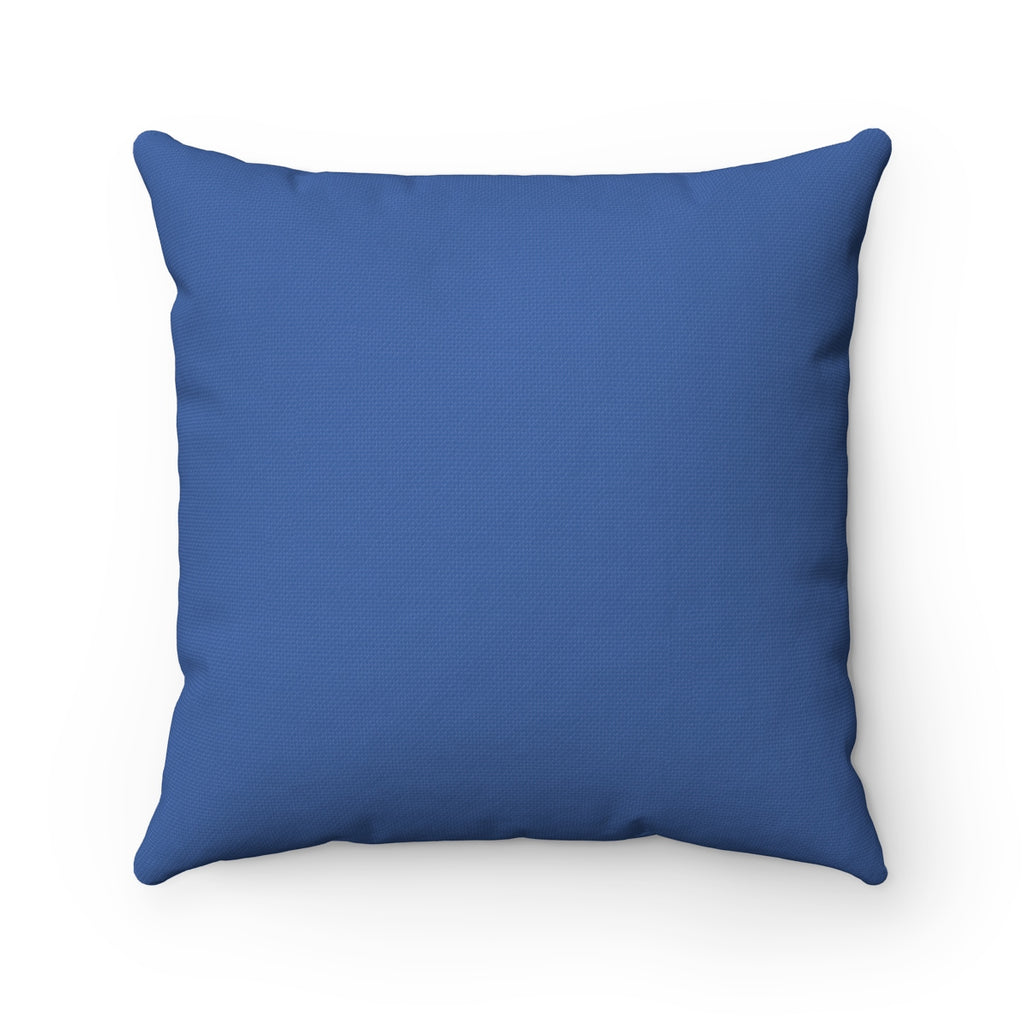 "Faith Over Fear Arrow ""Blue"" Square Pillow (20 X 20)"