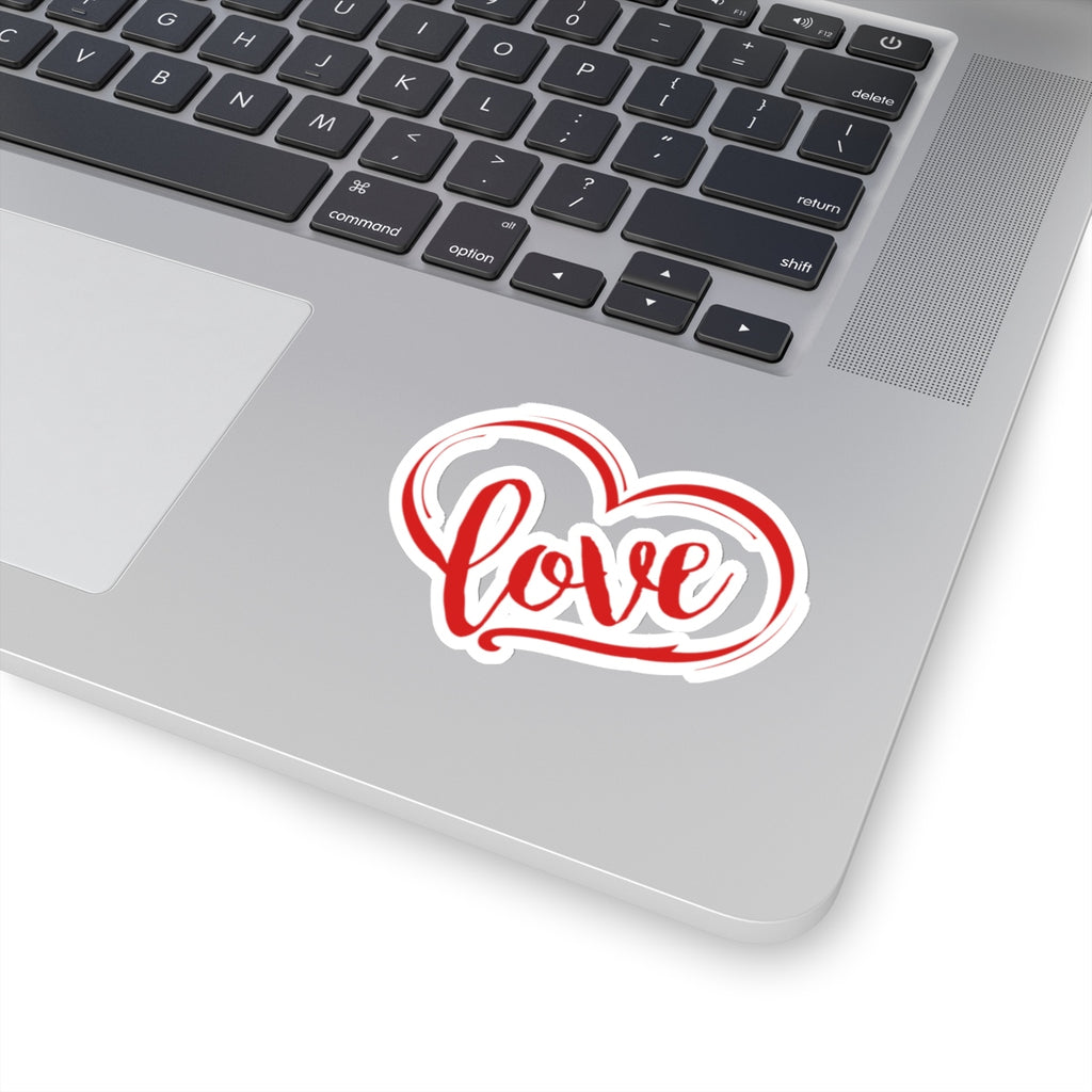 Love Heart Sticker (3X3)