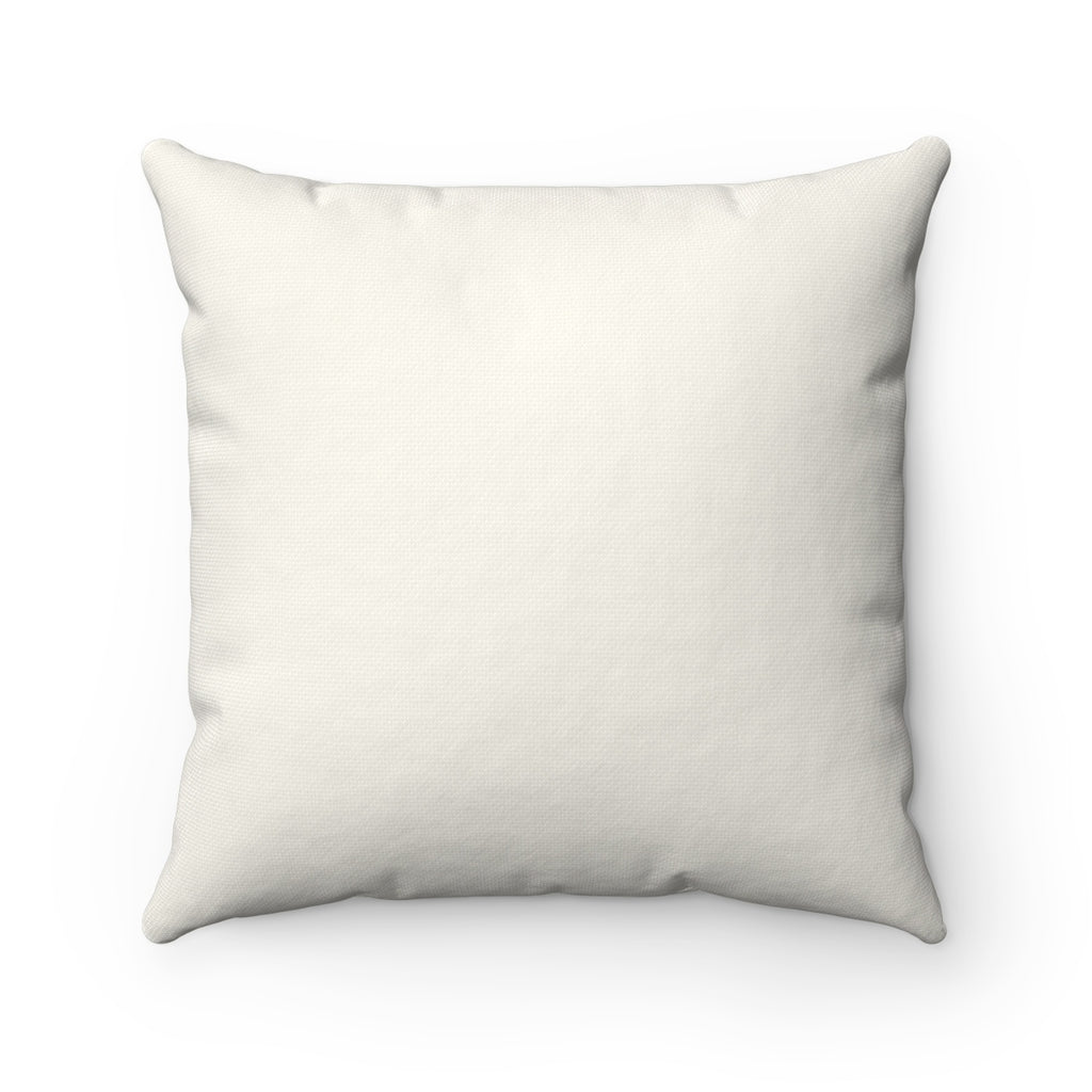 "XOXO Donuts ""Natural"" Square Pillow (20 X 20)"